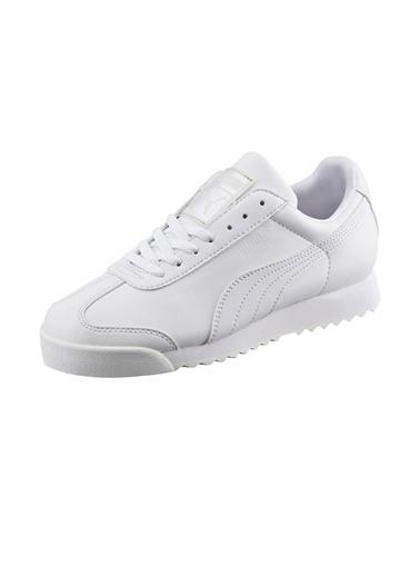 Puma Puma Roma Basic Jr Günlük Giyim Kadın Ayakkabı    Beyaz